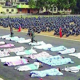 Chinese Students Forced To Sleep Under Thick Blankets In Sweltering Heat For What?