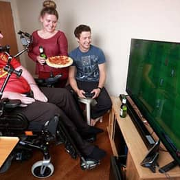 World's First Mouth-Controlled Playstation Built For Disabled FIFA Fan