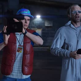 Back To The Future Recreated In GTA V Is Absolutely Amazing