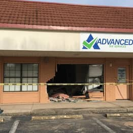 Guy Crashes Speeding Car Into Wall Trying To Enter Time Portal