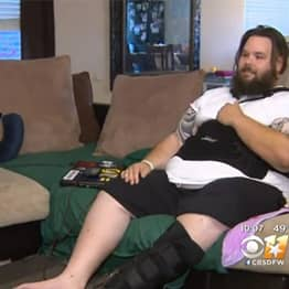 Guy Playing Fallout 4 At Home Gets Hit By Car And Survives