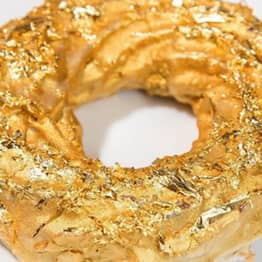Apparently Golden Doughnuts Made From Cristal Champagne Are A Thing