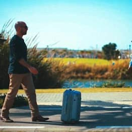 This Amazing Robotic Suitcase That Follows You Around Is A Game Changer