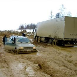 Russian Official Accused Of Literal Highway Robbery