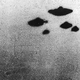 CIA Releases Declassified Photos Of UFOs Hovering Over Britain