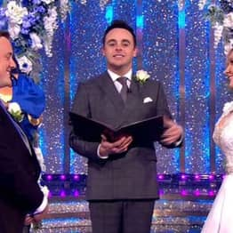 Not Everything Was As It Seemed With The Wedding On Ant And Dec's Saturday Night Takeaway