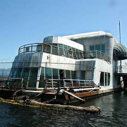 This Abandoned Floating McDonald's Is Creepy As F*ck