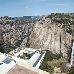 Would You Dare Eat At This Restaurant Hanging Over A Canyon?