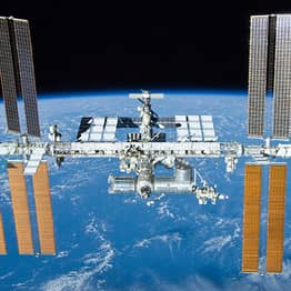 International Space Station Window Cracked By Flying Space Debris