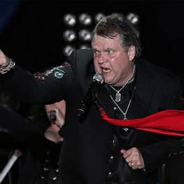 Rocker Meat Loaf Collapses While Performing On Stage