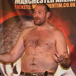 Tyson Fury Reveals Date Of His Comeback Fight