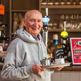Retired War Vet Given A Job After Complaining Of 'Dying Of Boredom'