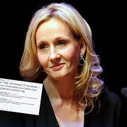 J.K. Rowling Absolutely Annihilates Twitter Troll After Posting Inspirational Quote