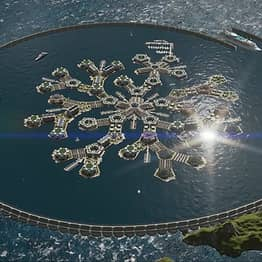 Footage Of World's First 'Floating City' Has Been Released