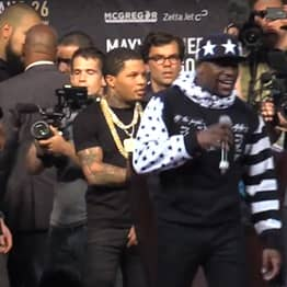 Floyd Mayweather's 'Juicehead' Security Guard Has Revealed What He Said To McGregor