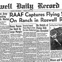The Bizarre Explanations For The Roswell UFO Incident