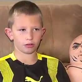 Boy Saves Brother's Life Using Skills He Learned From The Rock