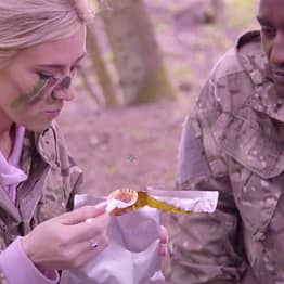 How The Army Feeds Itself Using What It Finds On The Front Line