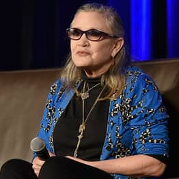 Carrie Fisher Sent Cow Tongue To Producer After Sexual Harassment