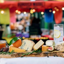Borough Market Gin-Soaked Cheese Is A Christmas Board Must