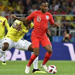 Colombian Official Caught Trying To Shoulder Sterling As He Left Pitch