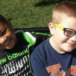 12-Year-Old Boy Raises Money For Gravestone Of Best Friend Who Died Of Cancer