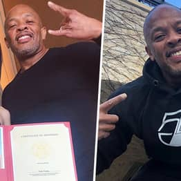 Dr Dre Gloats Over Daughter's College Acceptance With 'No Jail Time'