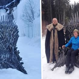 Couple Find Fifth Iron Throne In Game Of Thrones Scavenger Hunt