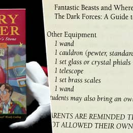 Ultra-Rare Harry Potter Book Sells For £70,000 Due To One Spelling Mistake