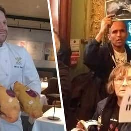 Chef Was Showing Vegan Acitivists 'High Calibre Of Produce' By Waving Duck In Their Faces