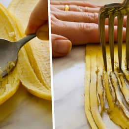 Vegan Recipe Requires You To Eat Banana Peels And People Are Loving It