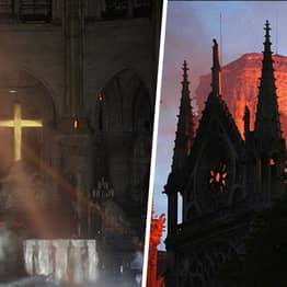 Woman Claims God Spared The Cross In Notre Dame Fire, Gets Schooled About Melting Point