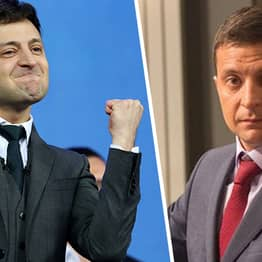 Comedian Who Plays Guy Who Accidentally Became Ukrainian President Actually Becomes Ukrainian President
