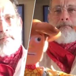 Tom Hanks Posts Heartwarming Toy Story Video For Conjoined Twins