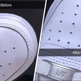 Simple Hack To Get Creases Out Of Trainers Goes Viral