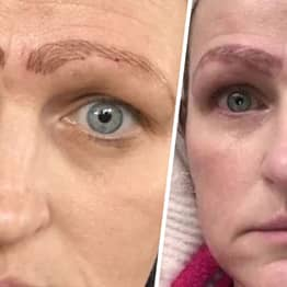 Mum Dumped After Cheap Microblading Treatment Leaves Her With Four Eyebrows