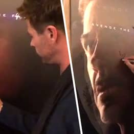 Chris Hemsworth Vandalised The Other Avengers' Posters And It's Hilarious