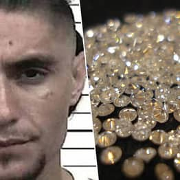 Police Find Bag With 44 Stolen Diamonds Up Man's Anus During Routine Traffic Stop