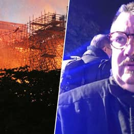 Hero Priest Ran Into Notre Dame Fire To Save Priceless Relics
