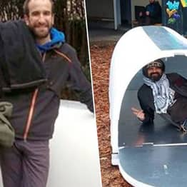 Engineer Invents Igloo Shelters For Homeless Which Retain Body Heat
