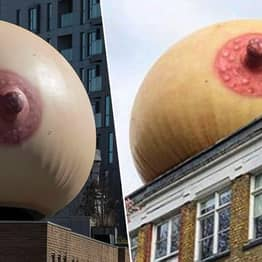 Giant Inflatable Boobs Are Popping Up All Over London