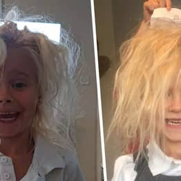 Girl With 'Uncontrollable Hair Syndrome' Compared With Troll Doll By Mum