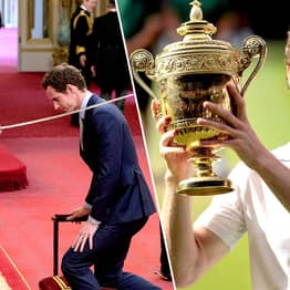 Sir Andy Murray Has Been Knighted At Buckingham Palace