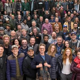 Robert Downey Jr. Shares 360 Picture Of Avengers: Endgame Cast And Crew
