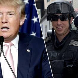 Trump Says People Who Kill Police Officers Should Get The Death Penalty