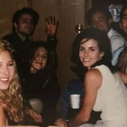 Courtney Cox Shares Throwback Friends Photo Before They Were Famous