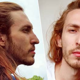 Guy Claims His Two Foot Long Hair Means Men Are Scared He'll Turn Girlfriends Into Lesbians