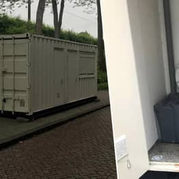 Guy Arrives In Amsterdam To Discover His Airbnb Is A Shipping Container