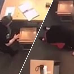 Robber Disarms Off-Duty Cop, Holds Them At Gunpoint