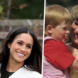 Prince Harry And Meghan Markle's Touching Gesture To Princess Diana In Baby Announcement